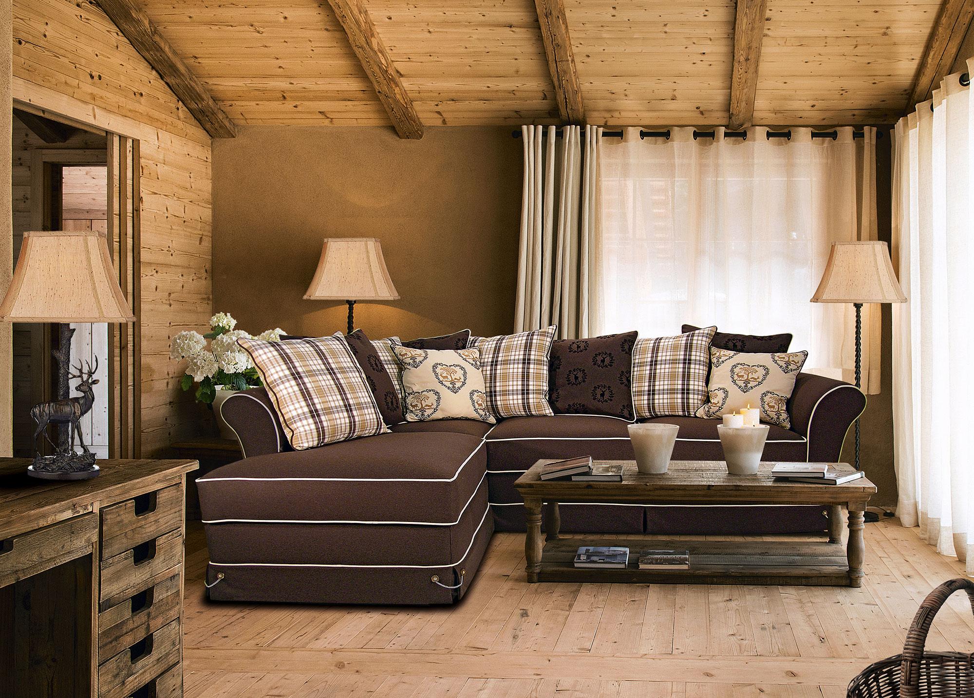 divani rustici stile tirolese divani classici trentino